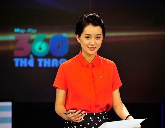 BTV thể thao, BTV Quỳnh Chi, thời trang BTV thể thao, truyền hình, VTV, MC, BTV