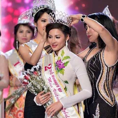 Thái Nhã Vân không được công nhận danh hiệu Á hậu ở Việt Nam