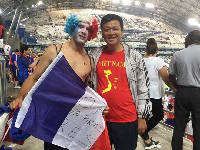 CDV Viet Nam cuong nhiet co vu tran ban ket Euro 2016 hinh anh 5