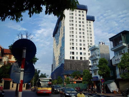 Thủ tướng Chính phủ đã 2 lần chỉ đạo xử lý vi phạm của công trình này - Ảnh: Nguyễn Quyết