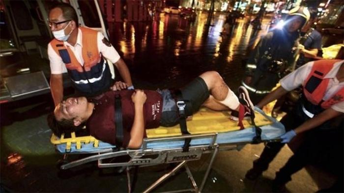 Đài Loan, nổ, tàu khách, hiện trường, hoảng loạn, thương vong