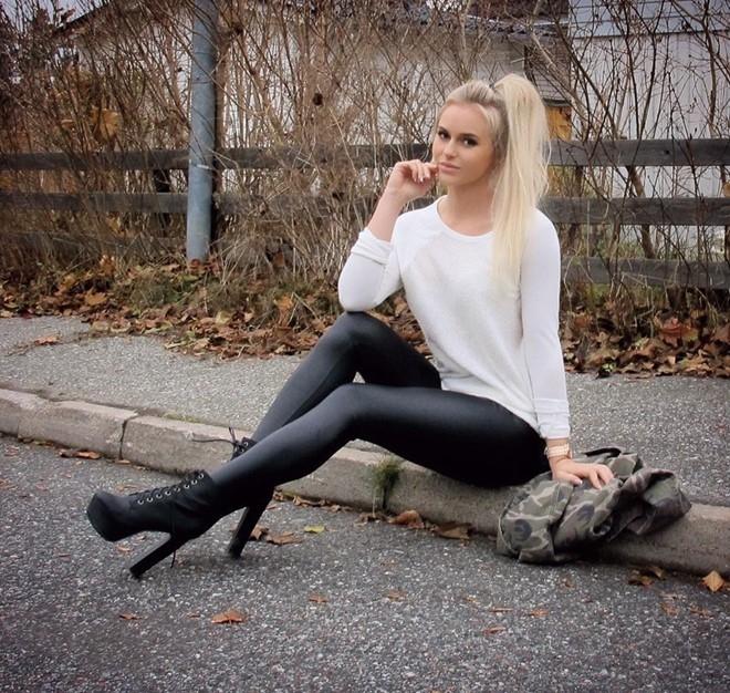 Hot girl the hinh thu hut 2,7 trieu fan tren Instagram hinh anh 3