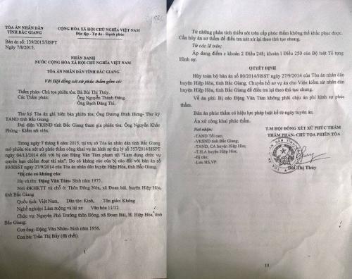 Kỳ án, người bị hại luôn kêu oan cho 'hung thủ' ở Bắc Giang - Ảnh 2