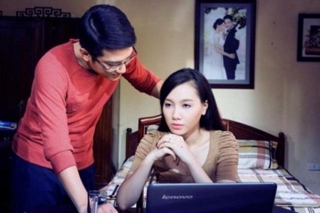 Cặp đôi diễn viên Chí Nhân và Minh Hà. Ảnh: TL