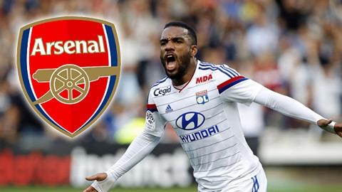 Tin chuyển nhượng 8/7: Arsenal chi 42 triệu mua Lacazette
