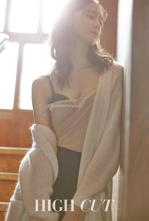 Yoona (SNSD) tre nai noi y tren tap chi hinh anh 2