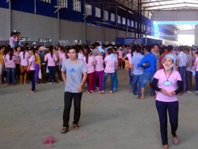 Hơn 1.000 công nhân ở Quảng Nam đình công vì lương thấp