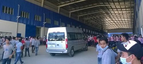 Hơn 1.000 công nhân ở Quảng Nam đình công vì lương thấp - ảnh 1