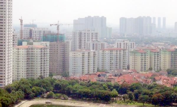 Nhà ở xã hội Rice City thuộc Tây Nam Linh Đàm