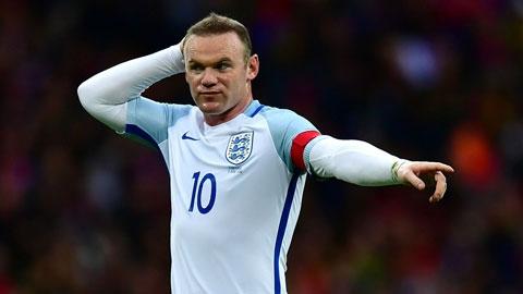 Rooney có một kỳ EURO thảm họa