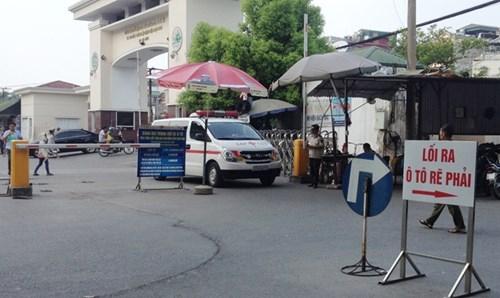 Vụ bảo vệ BV Nhi T.Ư  chặn xe cấp cứu: Luật ngầm xe cứu thương - ảnh 1