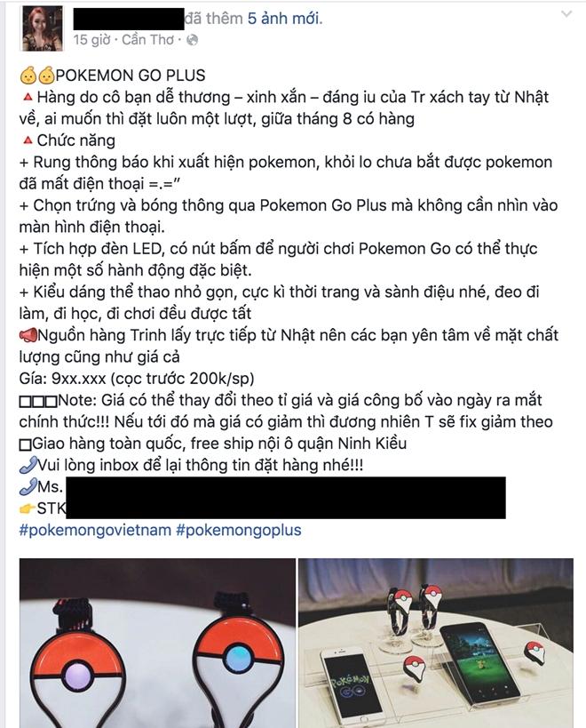 Pokemon Go Plus rao ban o Viet Nam, gia tu 900.000 dong hinh anh 1