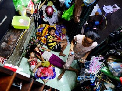 Cuộc sống trong căn nhà tam giác 2 m2 ở Sài Gòn
