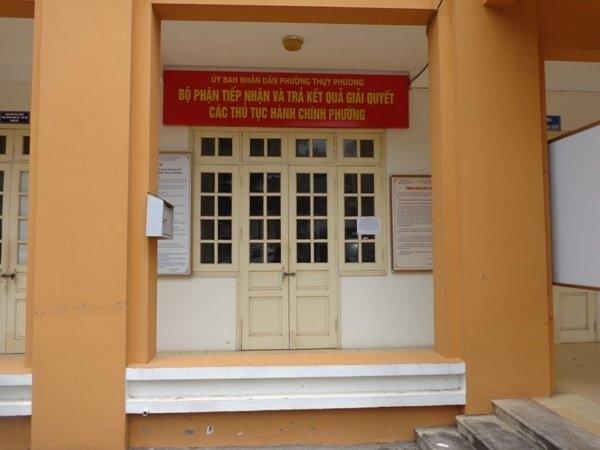 Chủ tịch UBND TP Hà Nội Nguyễn Đức Chung, cán bộ phường, đóng cửa đi nghỉ mát