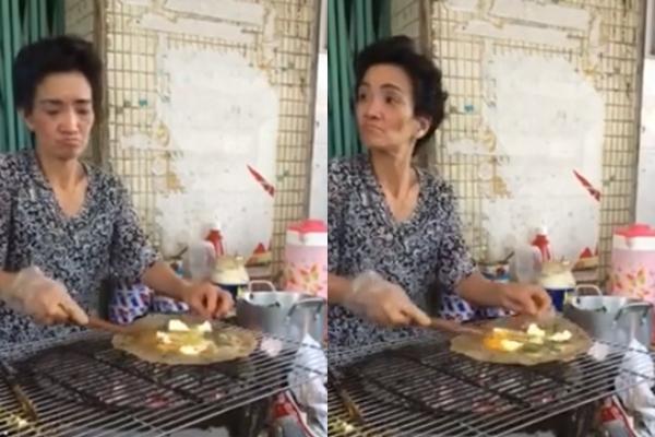 Clip: Bà chủ đuổi nhóm 6 khách vì chỉ gọi 1 cái bánh tráng nướng - Ảnh 2.