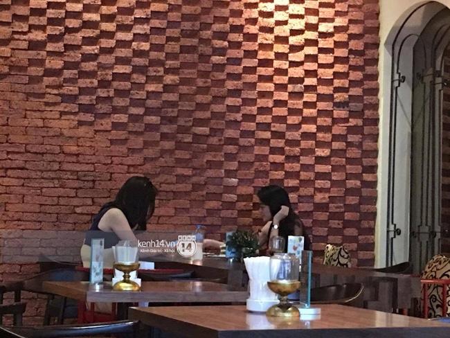 Clip: Hoa hậu Kỳ Duyên hút thuốc tại quán cafe bị chia sẻ rầm rộ trên mạng - Ảnh 2.