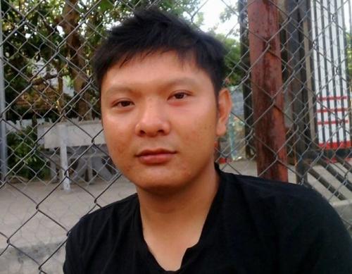 Chân dung nam tài xế taxi Nguyễn Văn Tiến.
