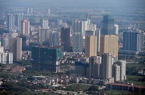 Hà Nội 'thay da đổi thịt' nhìn từ tòa nhà cao nhất Việt Nam - ảnh 16