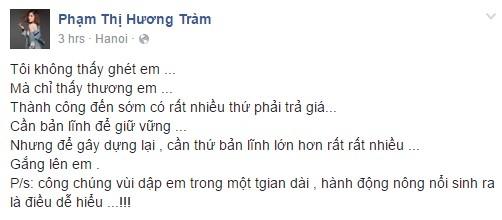 Huong Tram benh vuc khi Ky Duyen bi nem da vi hut thuoc hinh anh 1