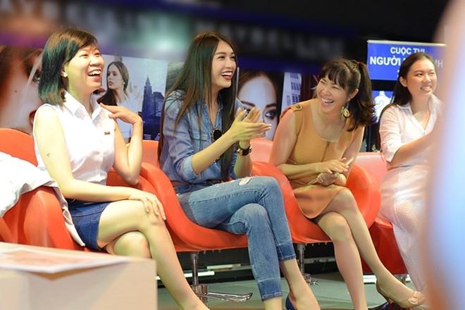 Le Hang ke chuyen bi mat vay khi thi Hoa hau Hoan vu 2015 hinh anh 3