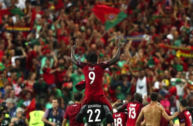 Eder, người đưa Bồ Đào Nha đi vào lịch sử bóng đá châu Âu
