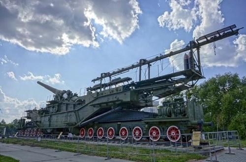 Rợn người trước siêu pháo 340 tấn, nòng 305mm của Nga - ảnh 2
