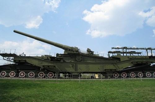 Rợn người trước siêu pháo 340 tấn, nòng 305mm của Nga - ảnh 3