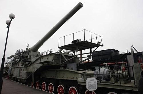 Rợn người trước siêu pháo 340 tấn, nòng 305mm của Nga - ảnh 4