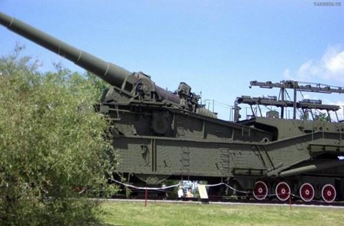 Rợn người trước siêu pháo 340 tấn, nòng 305mm của Nga - ảnh 10