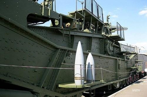 Rợn người trước siêu pháo 340 tấn, nòng 305mm của Nga - ảnh 11