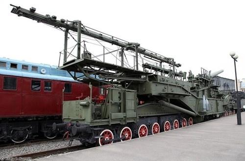 Rợn người trước siêu pháo 340 tấn, nòng 305mm của Nga - ảnh 12