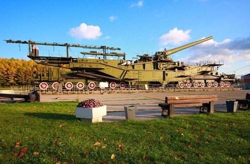 Rợn người trước siêu pháo 340 tấn, nòng 305mm của Nga - ảnh 14