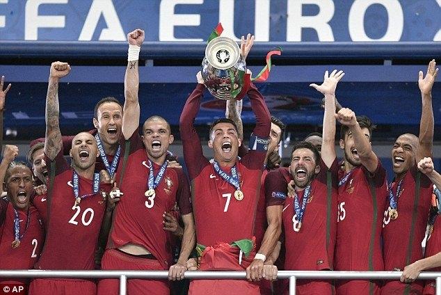 Tiền thưởng, Bồ Đào Nha, EURO 2016, Euro