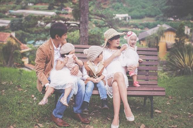 Vợ Lý Hải mang bầu 9 tháng lên Đà Lạt nghỉ mát