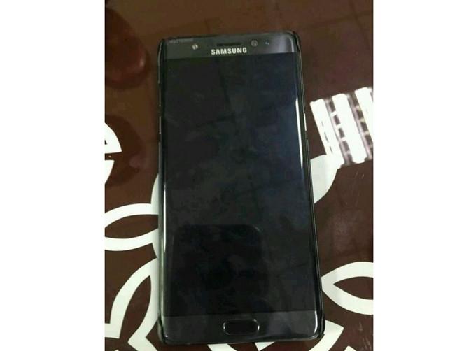 Bom tấn Galaxy Note 7 lộ ảnh thật đầu tiên - ảnh 1