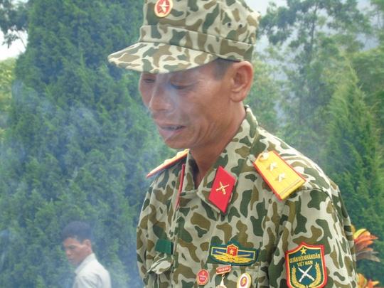 Đẫm lệ nghĩa trang liệt sĩ Vị Xuyên ngày giỗ trận Sư đoàn 356