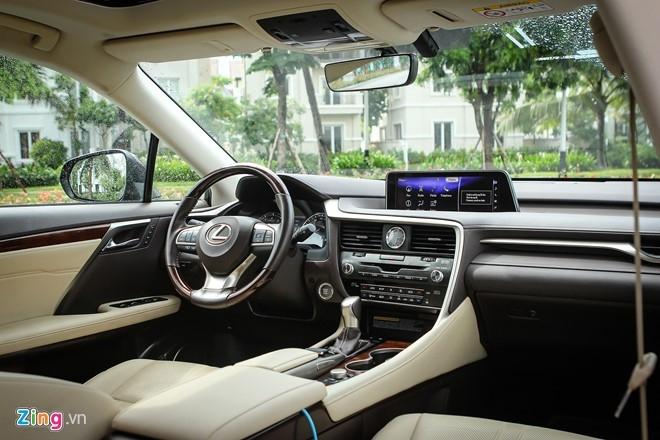 Danh gia Lexus RX350 2016: lot xac tu trong ra ngoai hinh anh 4