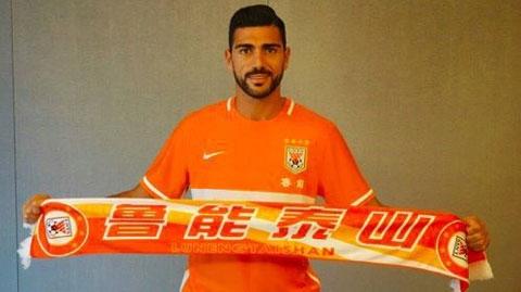 Graziano Pelle rời Southampton tới Shandong Luneng
