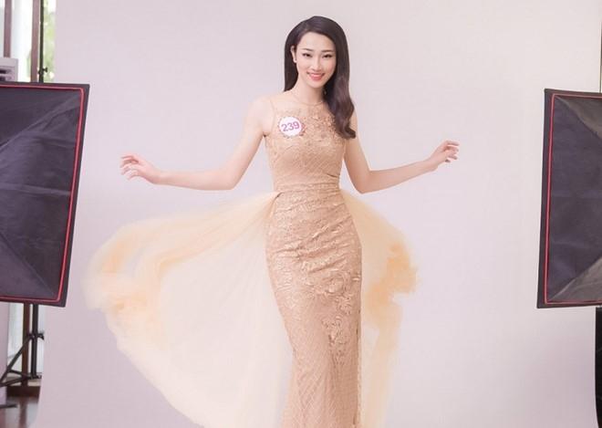 Hau truong chup bikini cua top 32 Hoa hau Viet Nam mien Bac hinh anh 7