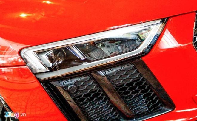 Sieu xe Audi R8 V10 Plus ve tay thieu gia Phan Thanh hinh anh 8