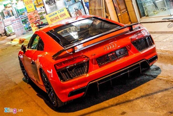 Sieu xe Audi R8 V10 Plus ve tay thieu gia Phan Thanh hinh anh 10