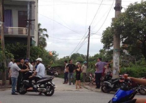Khu vực xảy ra vụ bắn chết giám đốc ở Hà Nam