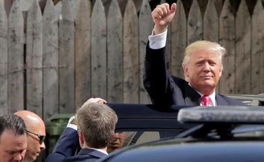 Trung Quốc luôn xem ông Trump là một đối tác thương mại tiềm tàng, người mà họ có thể thương lượng. Ảnh: REUTERS