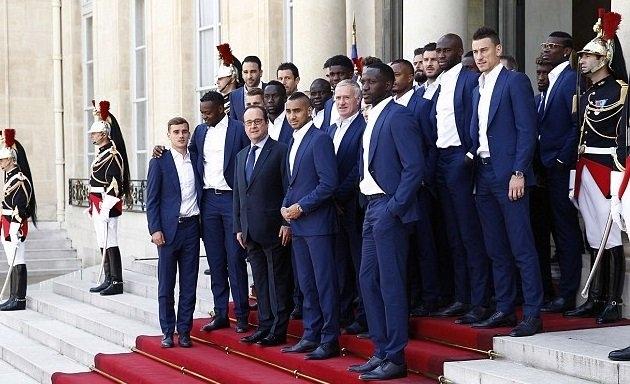 EURO 2016, tuyển Pháp, vô đào nha, Tổng thống Francois Hollande
