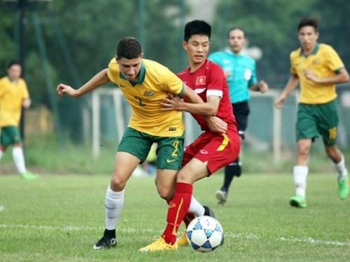 U16 Việt Nam bất ngờ đánh bại U16 Australia