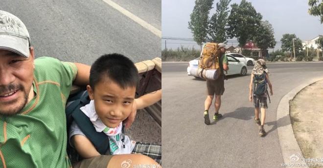 Bố dạy con trai bằng chuyến đi bụi một tuần khi rỗng túi