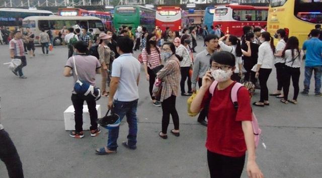 Sau 12 năm hoạt động, bến xe Lương Yên sẽ đóng cửa vào ngày 30/7. Ảnh: T.L