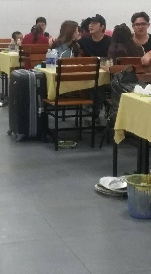 Lộ ảnh Quỳnh Anh Shyn thân mật với B Trần trong quán ăn - Ảnh 2.