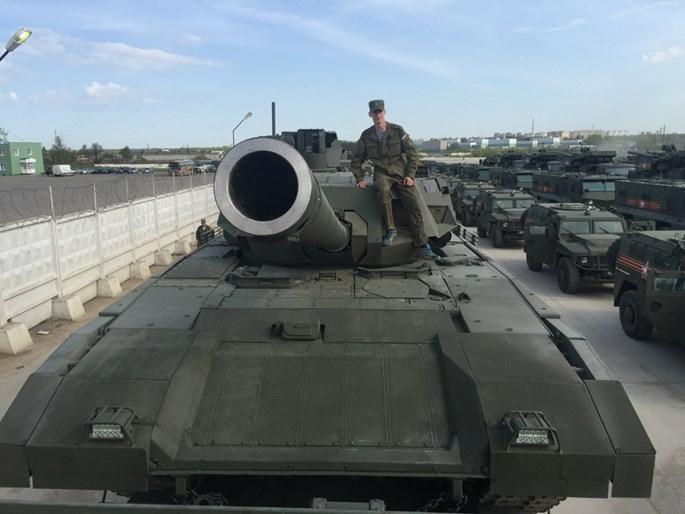 Nga chưa muốn thử nghiệm siêu xe tăng Armata ở Syria - ảnh 2