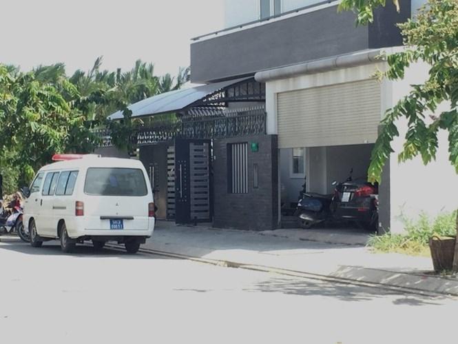 Căn nhà nơi xảy ra vụ mất trộm  /// Khả Lâm